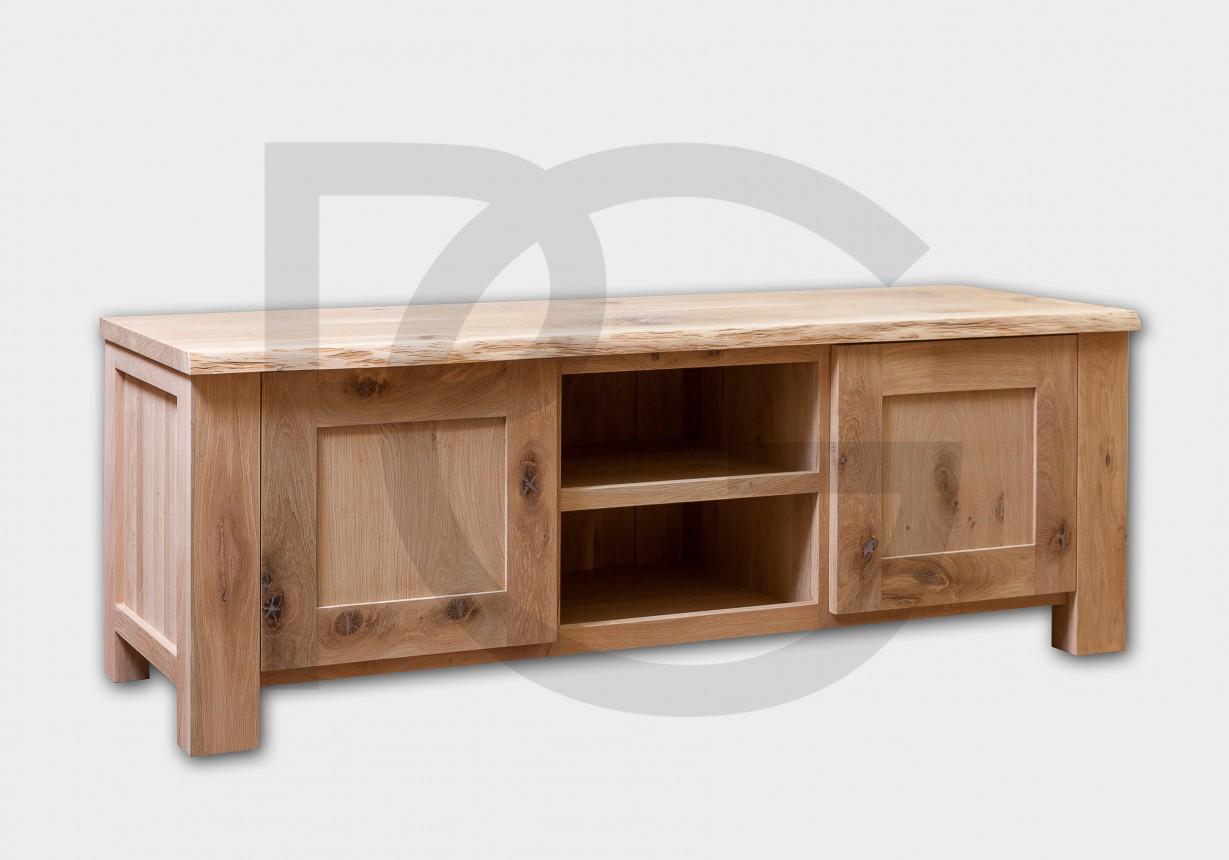 TV Stand U2013 Rustic Oak ...